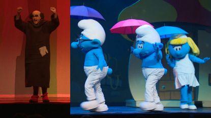 VIDEO. Rappende Gargamel en dansende Smurfin in eerste Smurfenmusical