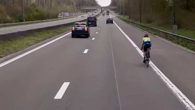 Renster neemt verkeerde afslag in Brabantse Pijl en belandt op Brusselse ring