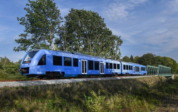De 'Coradia iLint' zal na Duitsland ook in Nederland getest worden.