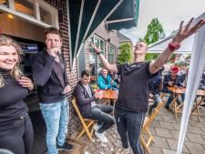 Sander Kremers is kampioen terras zitten in Heijen