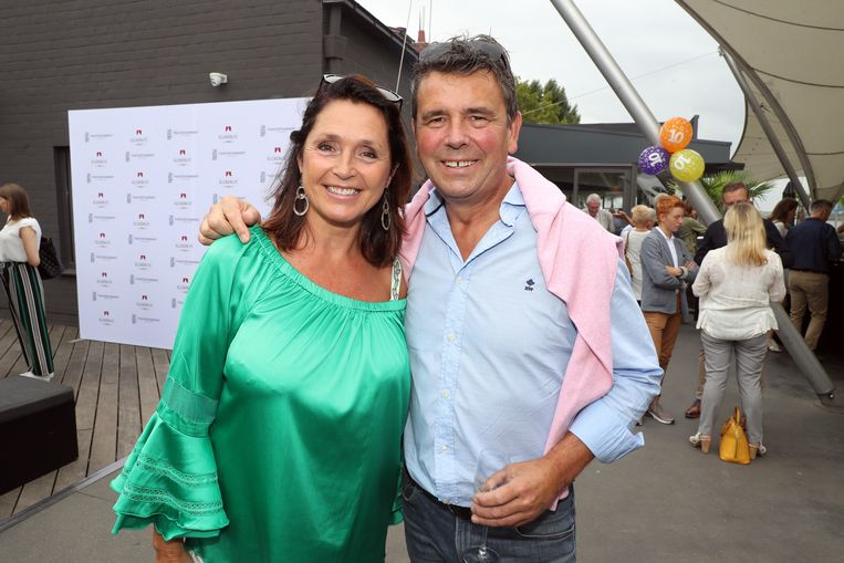 Wendy en Frans verscheen voor het laatst samen in het openbaar tijdens het tienjarige jubileum van De Komedie Compagnie.