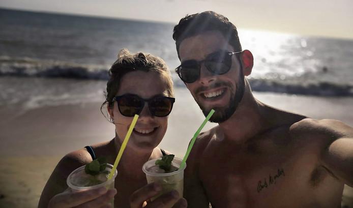 Rick en Mandy, die betrokken raakten bij het dodelijke busongeluk op Cuba