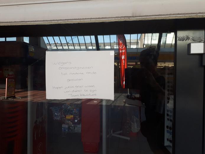 Kruidvat is tijdelijk gesloten.