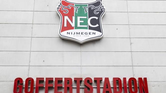 NEC speelt komende twee thuiswedstrijden zonder publiek in De Goffert: 'We kunnen niet anders'