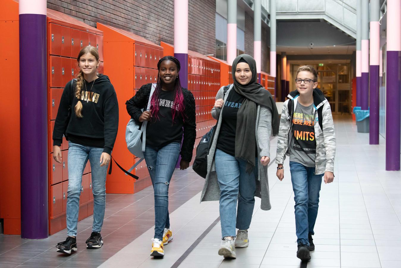Voor de locatie Bredius van het Kalsbeek College hebben zich met 271 aanmeldingen ongeveer evenveel nieuwe leerlingen aangemeld als vorig schooljaar.