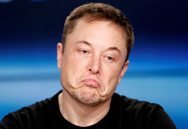 Tesla-topman Elon Musk Beeld REUTERS