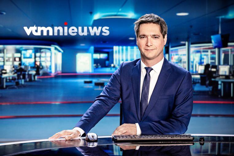 VTM duidt de verkiezingen voor u in 'VTM Nieuws Stem 2018'. Beeld VTM