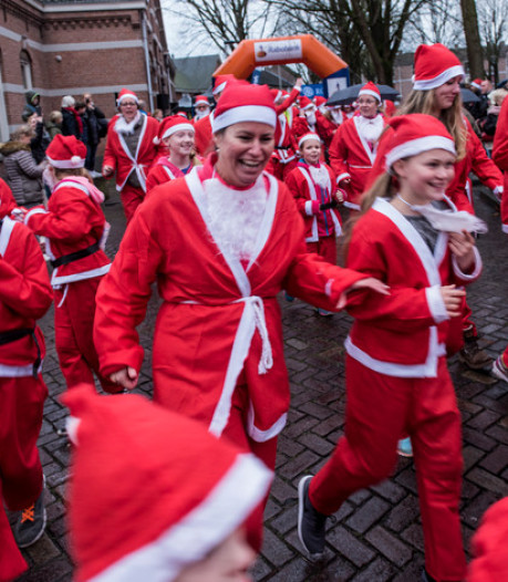 René Peters lost startschot voor zesde Santa Run in hartje Oss
