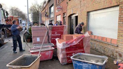 Héél onveilig en ratten baas: burgemeester laat 2 huizen dichtmetselen, 9 mensen op straat