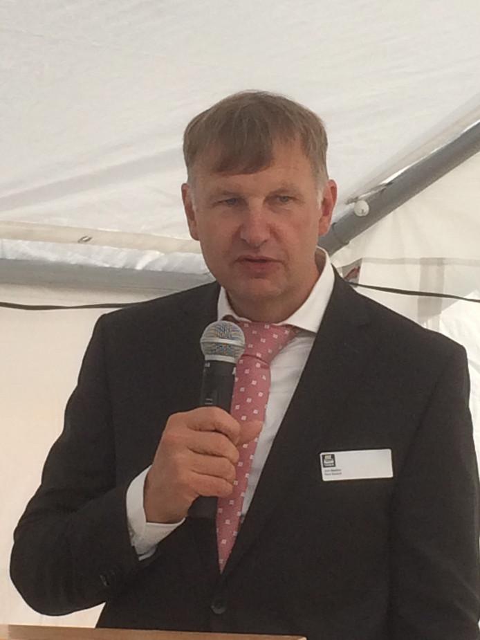 Jon Sletten, algemeen directeur van Yara Sluiskil