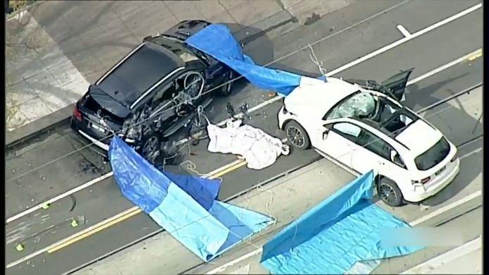 Ongeval fietsster in Melbourne.