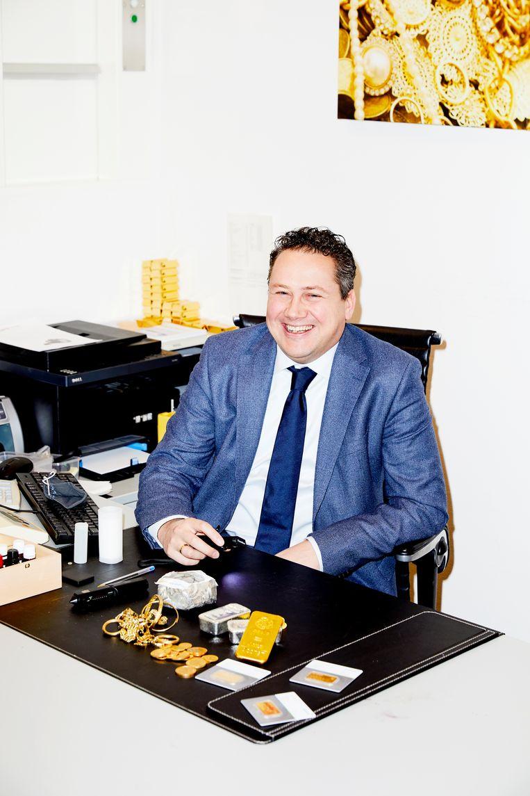 Johan de Ruiter, directeur van het Goudwisselkantoor. Beeld Marie Wanders