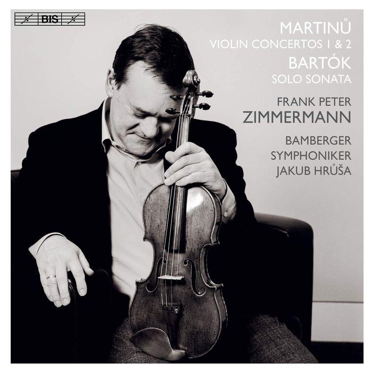 Frank Peter Zimmermann, Bohuslav Martinu - Violin Concertos 1 & 2. Beeld