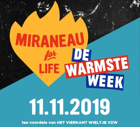 De affiche van Miraneau for Life