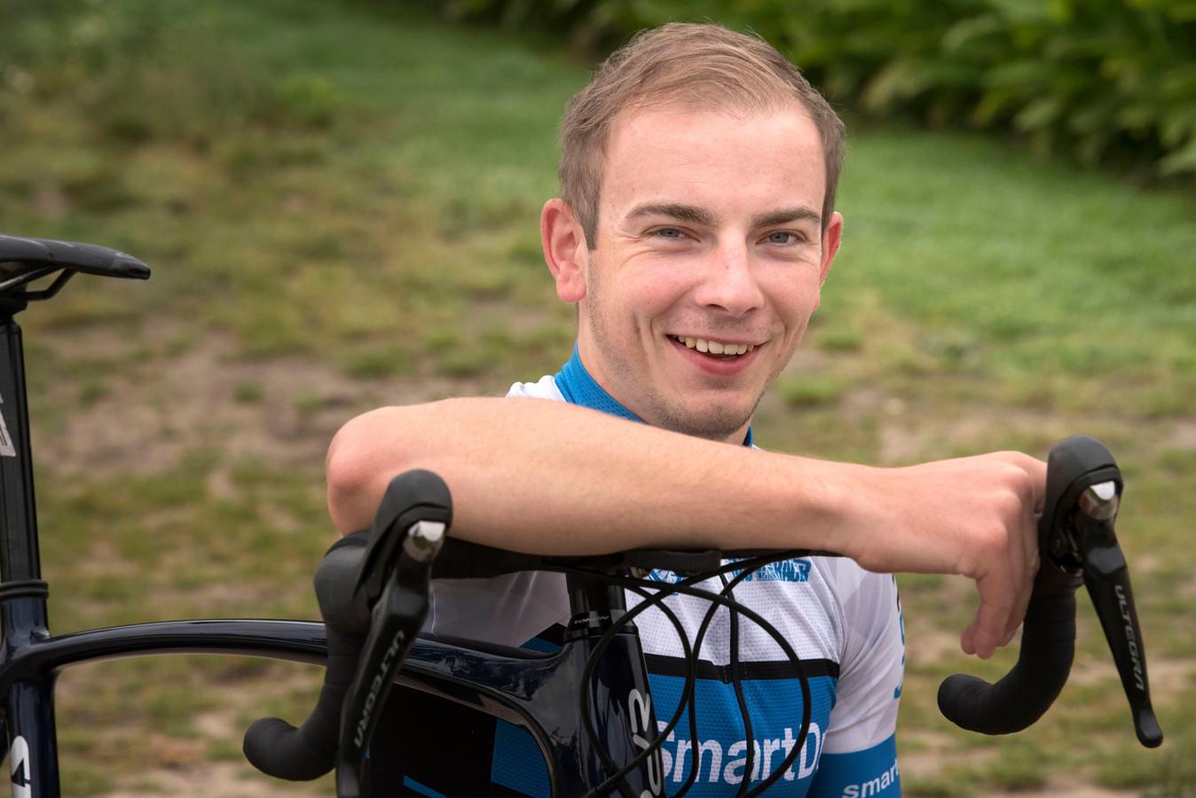 André Luijk fietst in 2019 voor De IJsselstreek, waar het collectief de kracht is.