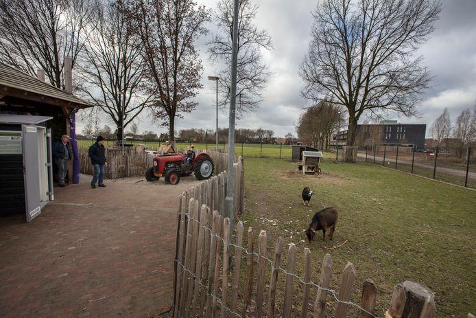 Buurtboerderij aan de Houtwal in Eersel.