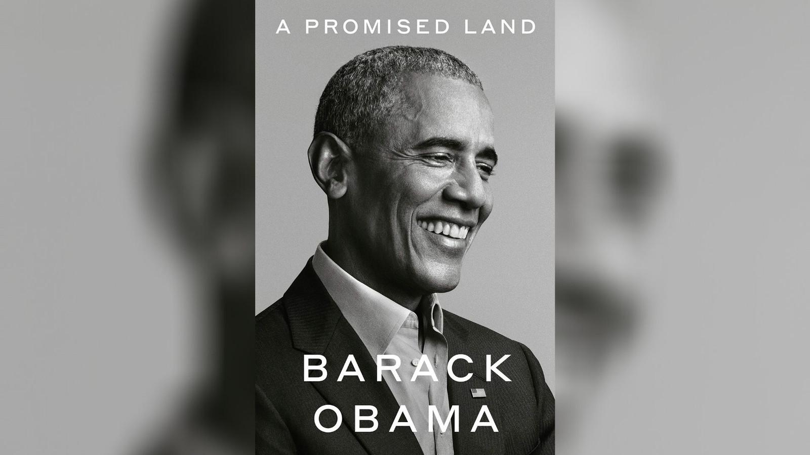 """Les mémoires de Barack Obama, """"A Promised Land"""", paraîtront ce 17 novembre 2020."""