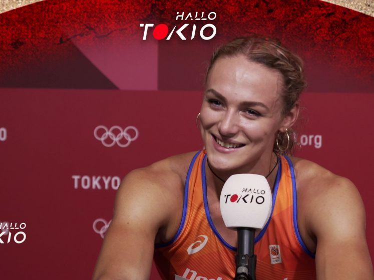 Lieke Klaver naar halve finale 400 meter: 'Volgens mij is dit wat ze bedoelen met genieten'