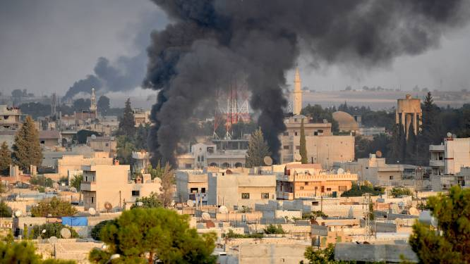 'Operatie Ontluikende Vrede': Turkije bombardeert Syrië