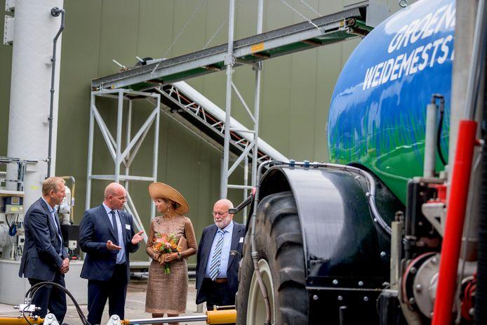 De duurzame bodemverbeteraar wordt gemaakt bij Groot Zevert Vergisting, waar koningin Maxima afgelopen jaar de Groene Mineralen Centrale opende.