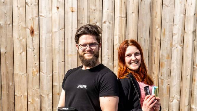 """""""Uitgroeien tot ecologische versie van Decathlon"""": Gwendolyne en Andreas startten met Stronk. eerste all-vegan sportwebshop van België"""