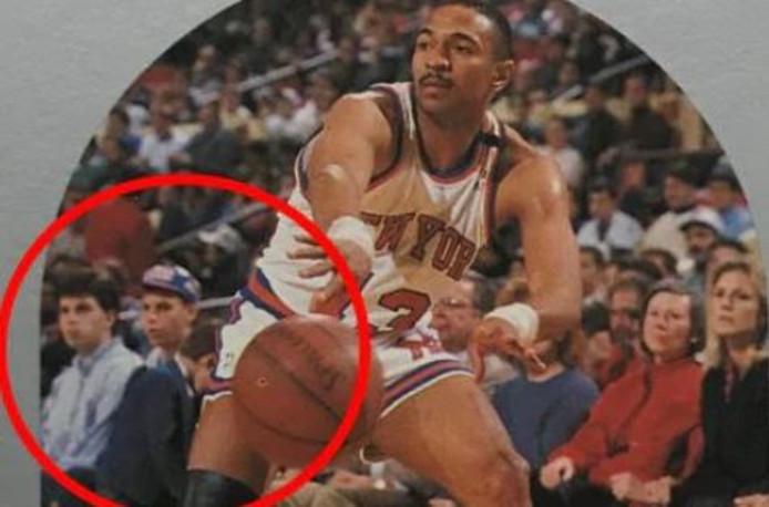 Moordbroers Lyle en Erik Menendez staan afgebeeld op het NBA-verzamelkaartje van Mark Jackson.