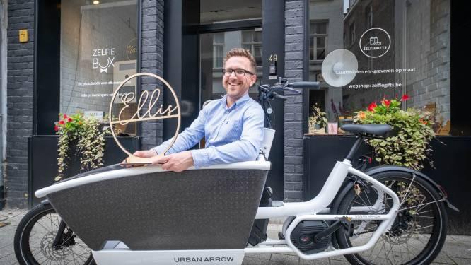 """52 ondernemers krijgen subsidie voor bakfiets: """"Sneller en goedkoper"""""""