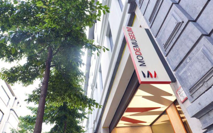 Het Modemuseum in Antwerpen.