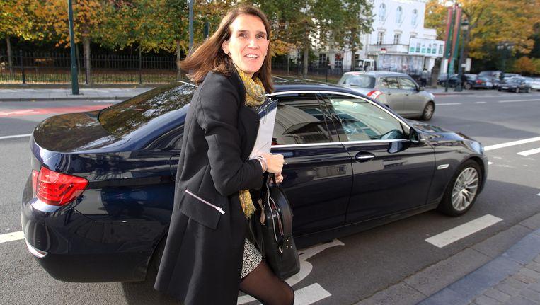 Minister van Begroting Sophie Wilmès (MR). Beeld BELGA