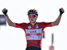 Tourwinnaar Tadej Pogacar langer bij Team Emirates