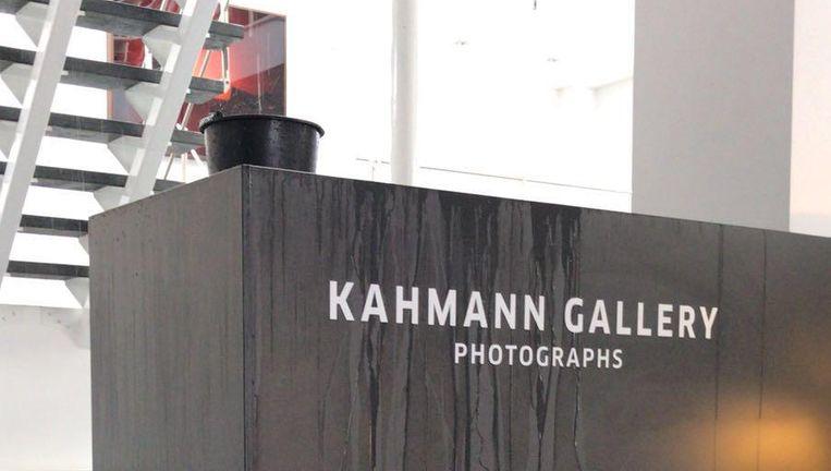 Flinke waterschade bij de Kahmann Gallery Beeld Roy Kahmann