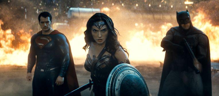 Een beeld uit 'Batman v Superman: Dawn of Justice'. Beeld AP