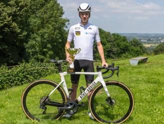 """Robbe Dhondt beste eerstejaars in Tour du Valromey: """"Nochtans reed ik nooit eerder een col op"""""""