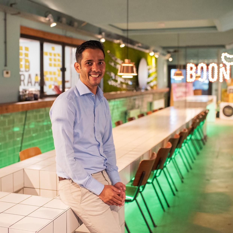 Tot aan coronajaar 2020 verdubbelde Michael Luesink de omzet van BOON Food Concepts ieder jaar met 100 procent. Beeld Sabine van Wechem