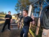 Lomar Sportvilla in Dieren gebruikt lockdown voor bouwen toestellen in de open lucht