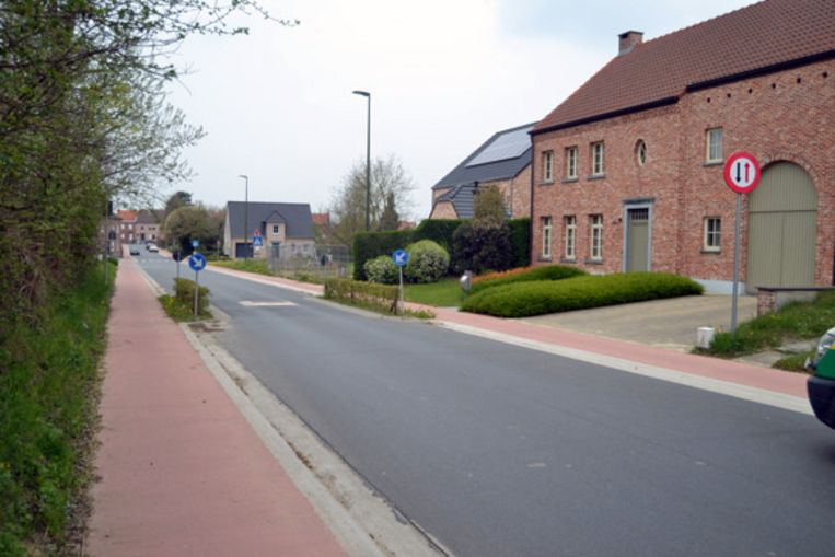 De Dassenstraat in Haasrode.
