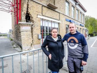 """Tina en Nicky nemen bistro in volle crisis over, plots rijdt Lijnbus tegen gevel: """"Net nu 8 mei eraan komt"""""""