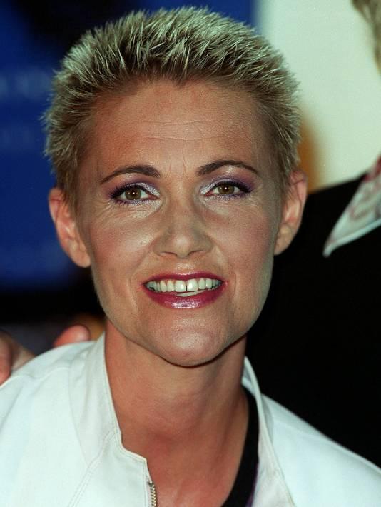 Marie Fredriksson in 2000.