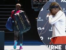 Lieve woorden, tranen, maar was dit ook het afscheid van Serena Williams?