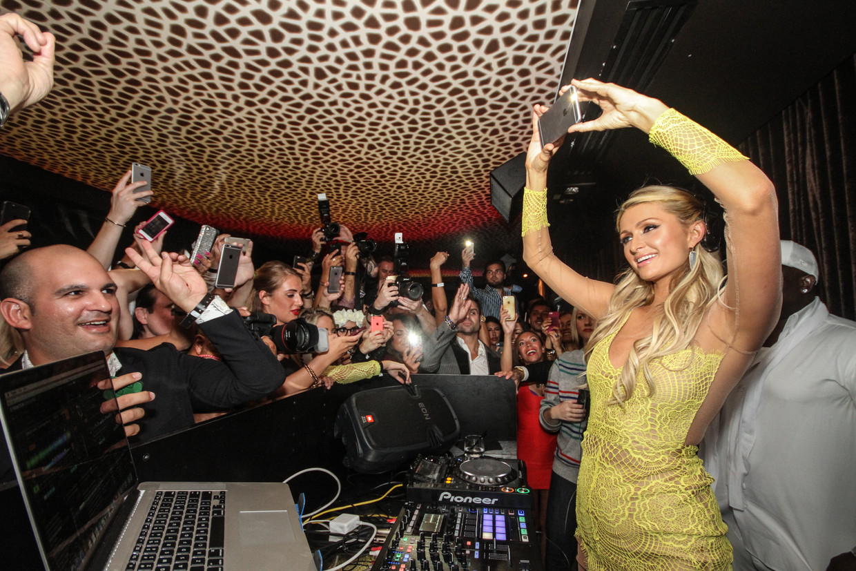 Paris Hilton. Beeld FilmMagic