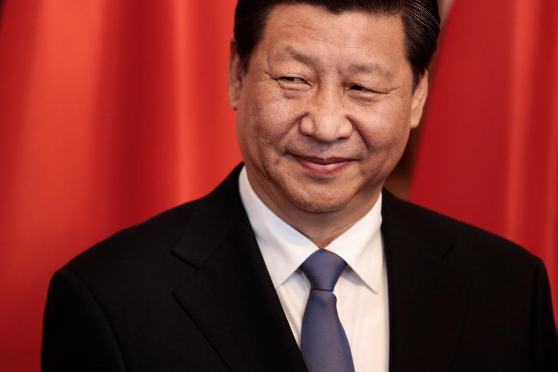 De Chinese president Xi Jinping vindt het belangrijke studenten uit te sturen, 'om het land te dienen'. Beeld AP