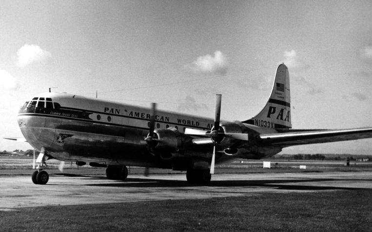 Een vliegtuig van Pan Am zoals de verongelukte vlucht 7. Beeld RuthAS/Wikipedia Commons
