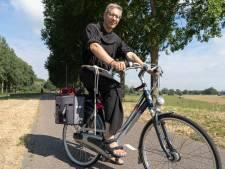 Fietsende pastoor Putman bestolen: 'Vertrouw op God, maar doe wel je fiets op slot'