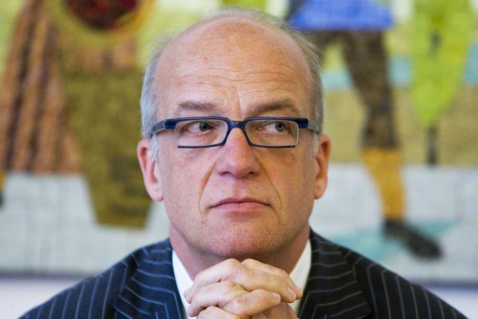 Ex-burgemeester Harry de Vries van Scherpenzeel.
