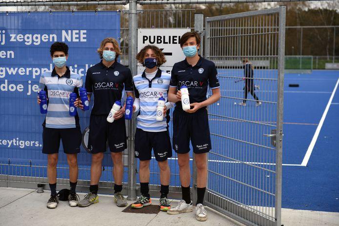 Hockey Tigers en gemeente keerbergen lanceren de sensibiliseringscampagne 'Nee, tegen wegwerpplastic'