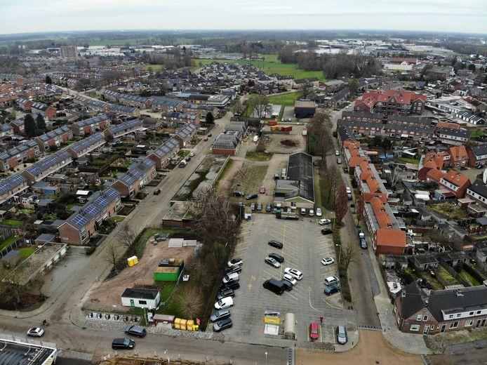 Het gebied wordt begrensd door de Van Kollaan, de Herman Heijermansstraat en de Roerdompstraat .