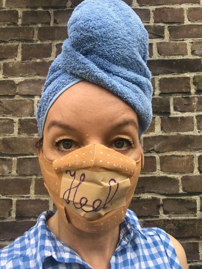 Sanne Wallis de Vries maakte een nieuwe voorstelling, 'Heel'.  Beeld Sanne Wallis de Vries