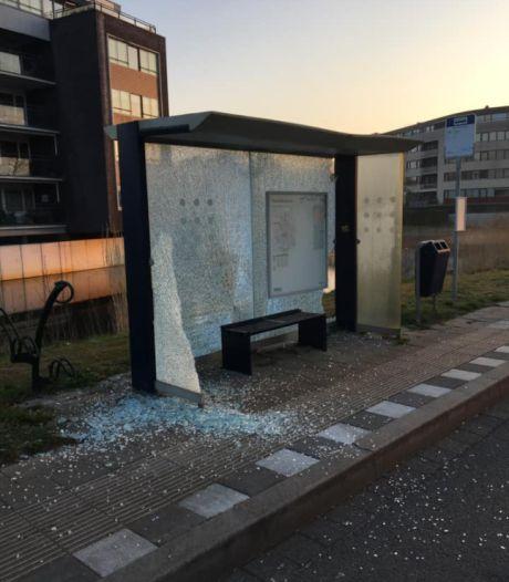 Bushokjes gesloopt, fontein toegetakeld: spoor van vernielingen in Apeldoornse wijk Osseveld-Woudhuis