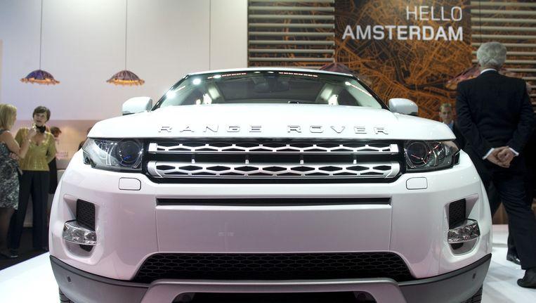 De Range Rover Evoque op de Miljonair Fair in de RAI, 2010. Beeld anp