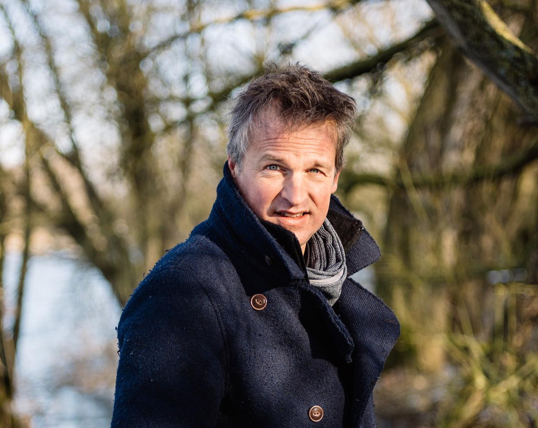 Tv-maker Arnout Hauben. Beeld Kevin Faingnaert